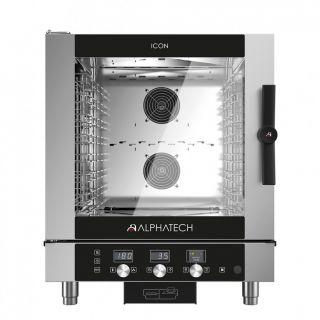 Φούρνος Icon αερίου 7 θέσεων ηλεκτρονικός ICGT071E 777x729x942