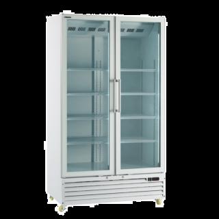 Ψυγείο  συντηρηση με 2 περιστρεφόμενες πόρτες Λευκό 113x72x202 εκ ICOOL110W