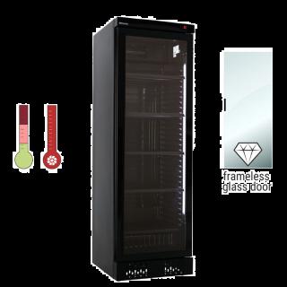 Ψυγείο βιτρίνα κρασιών ICOOL40W BLACK 60x65x185