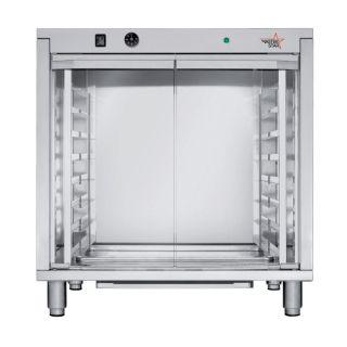 Στόφα 8 θέσεων Inox δίφυλλη LIEV 846 795x655x835 mm