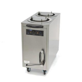 Επαγγελματικός επιδαπέδιος θερμαινόμενος διανομέας πιάτων (dispenser) 57Χ106Χ103 εκ MAX-09362005