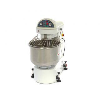 Επαγγελματικό ζυμωτήριο / μίξερ ηλεκτρικό (400W) επιδαπέδιο  (σπιραλ) 200 ΛΙΤΡΩΝ 141Χ90,5Χ140,5 εκ MAX-09361150
