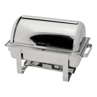 Μπέν Μαρί επιτραπέζιο με ρεσώ V-VE350 GN 1/1 με roll top καπάκι  64χ35χ41cm