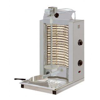 Γυριέρα Ηλεκτρική με πυρίμαχες πλάκες 35-45kg NR-ND2 48X50X86cm