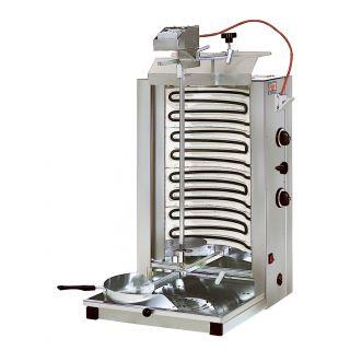 Γυριέρα Ηλεκτρική με πυρίμαχες πλάκες 35-45kg 48X52X94cm