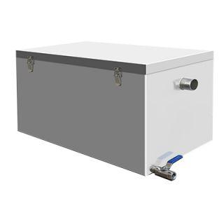 Λιποσυλλέκτης ανοξείδωτος χωρητικότητας 180 λίτρων 82,3X52,1X62,7 εκ VNT-OWS180