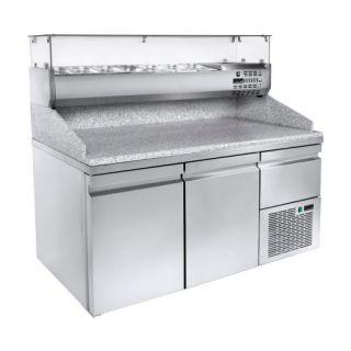 Ψυγείο πίτσας συντήρηση με 2 & 1/2 πόρτες 134X70X110 εκ NK-PAPI134M
