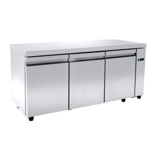 Ψυγείο πάγκος συντήρηση χωρίς μοτέρ με 3 πόρτες 150X60X88 εκ NK-PA60150A