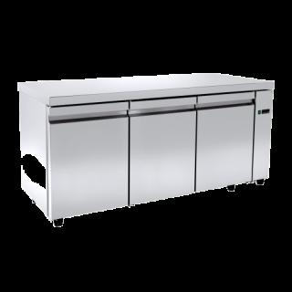 Ψυγείο πάγκος συντήρηση με 3 πόρτες (χαμηλός) 150X60X64 εκ NK-PAX6150A-1