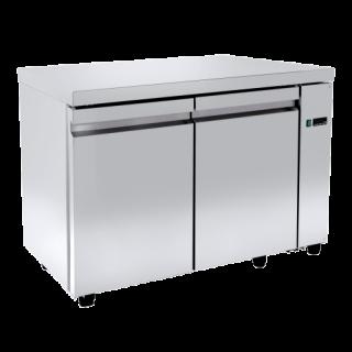 Ψυγείο πάγκος συντήρηση χωρίς μοτέρ με 2 πόρτες 121X70X88 εκ NK-PA70121A