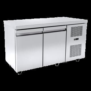 Ψυγείο πάγκος συντήρηση με 2 πόρτες (χαμηλός) 134X60X64 εκ NK-PAX6134M-1