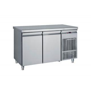Ψυγείο πάγκος συντήρηση με 2 πόρτες 139X70X85 εκ BM-PG139