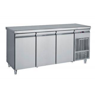 Ψυγείο πάγκος συντήρηση με 3 πόρτες 185X70X85 εκ BM-PG185