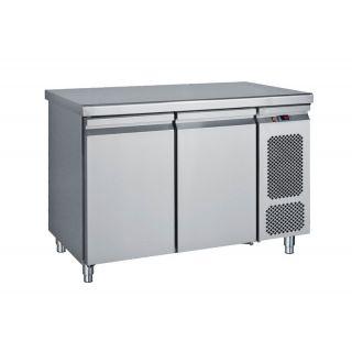 Ψυγείο πάγκος συντήρηση με 2 πόρτες 124X70X85 εκ BM-PGC124