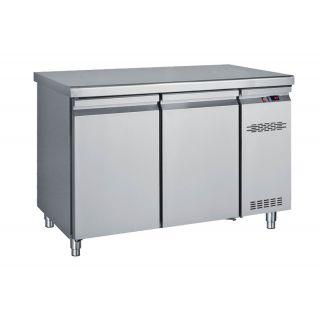 Ψυγείο πάγκος συντήρηση με 2 πόρτες Χωρίς Μηχανή 124X70X85 εκ BM-PK124
