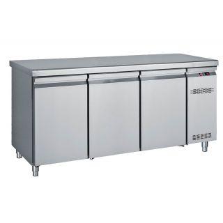 Ψυγείο πάγκος συντήρηση με 3 πόρτες Χωρίς Μηχανή 170X70X85 εκ BM-PK170