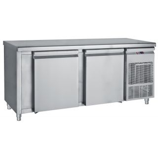 Ψυγείο πάγκος συντήρηση με 2 μεγάλες πόρτες 155Χ60Χ85 εκ BM-PM6155