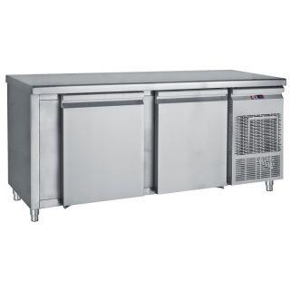 Ψυγείο πάγκος συντήρηση με 2 μεγάλες πόρτες 185Χ70Χ85 εκ BM-PM7185