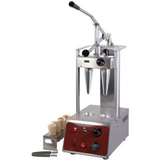 Επαγγελματική ηλεκτρική Πρέσα Διαμόρφωσης Ζύμης για Πίτσα Κώνο SER-PC2 29,5χ55χ77 εκ