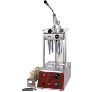 Επαγγελματική ηλεκτρική Πρέσα Διαμόρφωσης Ζύμης για Πίτσα Κώνο SER-PC4 29,5χ55χ77 εκ