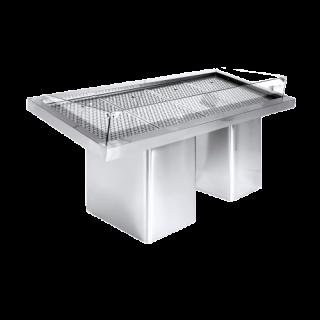 Ψυγείο Βιτρίνα Ψαριέρα επιδαπέδια  232X90X92 εκ NK-PSKO232A
