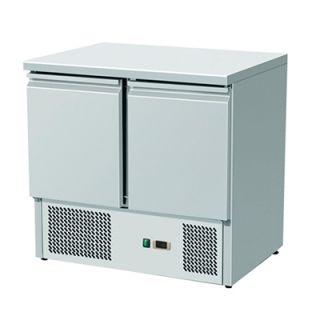 Πάγκος Ψυγείο Συντήρησης Inox 90X70X87 ΜΟΤΕΡ ΚΑΤΩ εκ  VNT-310901