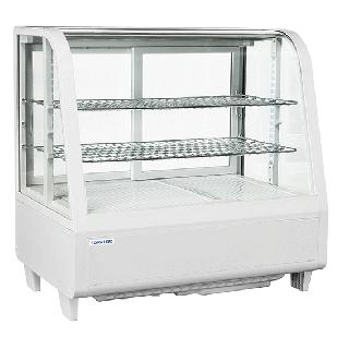 Επαγγελματική βιτρίνα πλαστικοποιημένη συντήρηση επιτραπέζια CH-RC100W 68,2X45X67,5 εκ ENERGY CLASS B