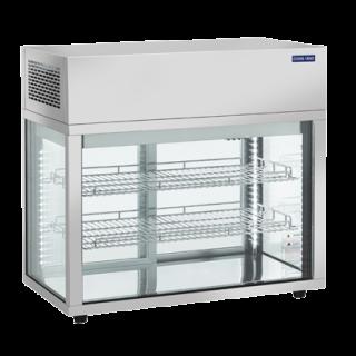 Επαγγελματική βιτρίνα INOX συντήρηση επιτραπέζια CH-RC769 80,5X43,8X73,5 εκ ENERGY CLASS C