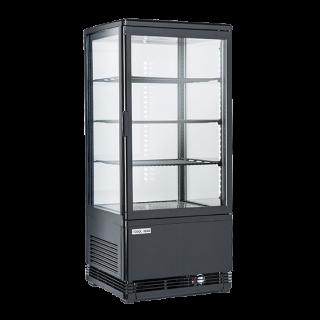 Επαγγελματική βιτρίνα πλαστικοποιημένη συντήρηση λευκή επιτραπέζια CH-RC78B 42,8X38,6X96 εκ ENERGY CLASS C