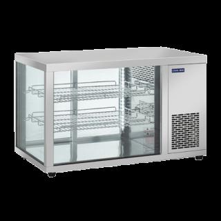 Επαγγελματική βιτρίνα INOX συντήρηση επιτραπέζια CH-RC910  91Χ52,4Χ53,5 εκ ENERGY CLASS D