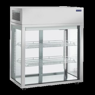 Επαγγελματική βιτρίνα INOX συντήρηση επιτραπέζια CH-RC969 80,5X43,8X93,5 εκ ENERGY CLASS C