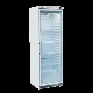 Επαγγελματικός θάλαμος πλαστικοποιημένος βιτρίνα μονός συντήρηση CH-RCG400  60X69,3X187,5 εκ ENERGY CLASS B