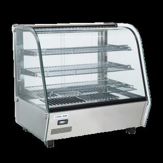 Επαγγελματική βιτρίνα θερμενόμενη επιτραπέζια  με κυκλοφορία αέρα CH-RH120 69,2X58,2X68,5 εκ