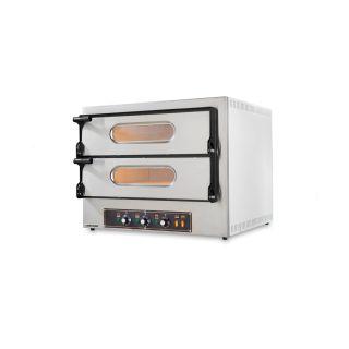 Επαγγελματικός Φούρνος Πίτσας Ηλεκτρικός Resto Italia RST-KUBE-2 74x60/74x60 εκ