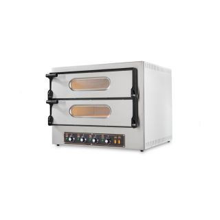 Επαγγελματικός Φούρνος Πίτσας Ηλεκτρικός Resto Italia RST-KUBE-2PLUS 74x60/74x60 εκ