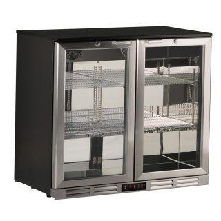 Ψυγείο βιτρίνα συντήρηση  back bar 90x53x83,5 εκ AF-S185XH