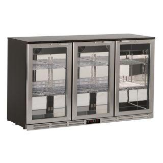 Ψυγείο βιτρίνα συντήρηση με 3 πόρτες  back bar 135x53x83,5 εκ AF-S285XH