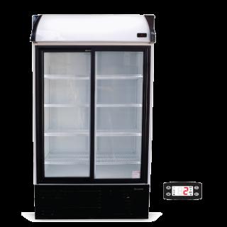 Ψυγείο αναψυκτικών με 2 συρόμενες πόρτες συντήρηση 110,3x68,9x200 εκ ΑF-S911SC