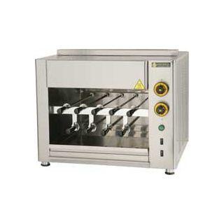 Επαγγελματική ηλεκτρική ψησταριά επιτραπέζια για 9 κοντοσούβλια SER-SGE9 74χ61χ52 εκ