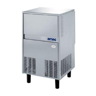 Παγομηχανή nugget  SMI 80 για παγάκια Μojo 529x626x791mm