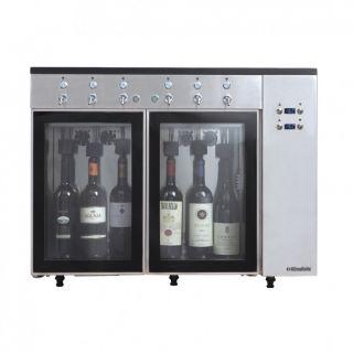 Ψυγείο βιτρίνα διανεμητής  κρασιών 84,5x38x64,1 εκ AF-SOMMELIER6