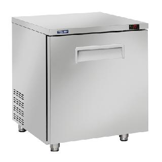 Ανοξείδωτο επαγγελματικό ψυγείο πάγκος κατάψυξη 1 ΠΟΡΤΑ CH-TF10 71,1x79,1x85 εκ ENERGY CLASS D