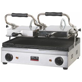 Τοστιέρα Διπλή Ραβδωτή SLS PGR 33 50x39x20 cm VNT- 051633
