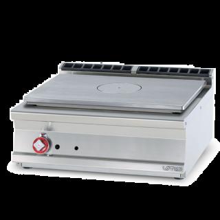 Κουζίνα αερίου με ενιαία πλάκα hot top AF-TPT-78G 800x705x280