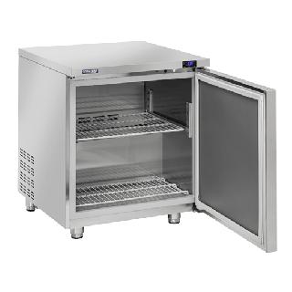 Ανοξείδωτο επαγγελματικό ψυγείο πάγκος συντήρηση 1 ΠΟΡΤΑ CH-TR10 71,1x79,1x85 εκ ENERGY CLASS A