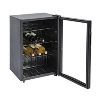 Ψυγείο βιτρίνα κρασιών συντήρηση επιτραπέζιο 44,5x51x67,6 εκ VNT-VE85G