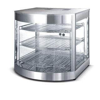 Βιτρίνα θερμαινόμενη επιτραπέζια 46χ46χ61,5 εκ VNT-VHW350A