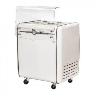 Ψυγείο παγωτού για 4 καραπίνες 81,8x69x98,4 εκ AF-VIA VENETO 4C