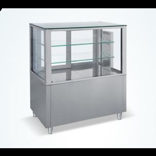 Ψυγείο βιτρίνα ψυχόμενη με διπλά κρύσταλλα 108χ70χ120 εκ BM-ZBF108
