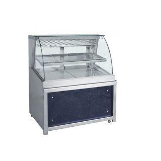 Ψυγείο Βιτρίνα Σειρά Frost με ψυχόμενη αποθήκη 110χ90χ130 εκ BM-ZFM110